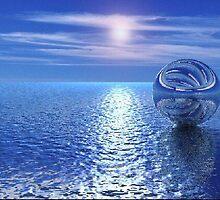 bola en el agua by pepepotamo