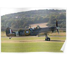 Spitfire Takeoff Poster
