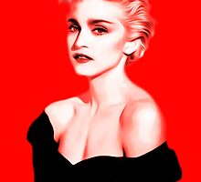 Madonna  - Papa Don't Preach - Pop Art by wcsmack