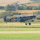Spitfire Takeoff by Nigel Bangert
