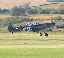 Spitfire Takeoff by Nigel Bangert