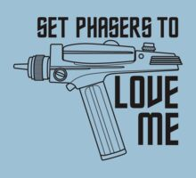Set Phasers to Love Me Baby Tee