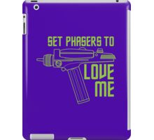 Set Phasers to Love Me (Color Variant) iPad Case/Skin
