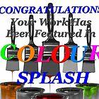 Colour Splash Banner by Gina Kaye