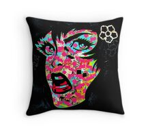 PaperMonster Outlaw Throw Pillow