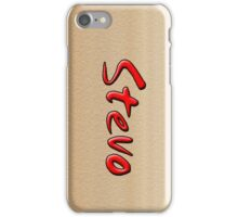 STEVO iPhone Case/Skin