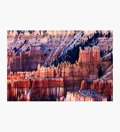 Bryce Canyon Hoodoos at Sunset Photographic Print