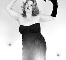 Pam as Rita Hayworth by LadyLuckOfBoise