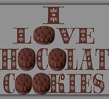 ☸•°I LOVE CHOCOLATE COOKIES•☸ by ╰⊰✿ℒᵒᶹᵉ Bonita✿⊱╮ Lalonde✿⊱╮