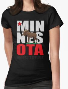 Minnesota Republic Twin Cities Edition Womens Fitted T-Shirt
