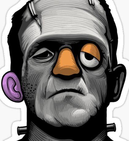 Mr Frankie Head Sticker