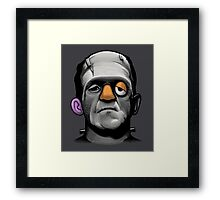Mr Frankie Head Framed Print