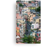 Vernazza Canvas Print