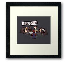 Intervention Framed Print