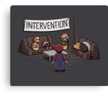 Intervention Canvas Print