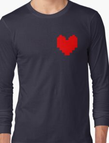 Wear Your Heart On Your Sleeve Long Sleeve T-Shirt