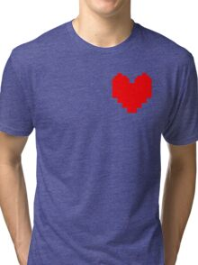 Wear Your Heart On Your Sleeve Tri-blend T-Shirt
