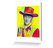 John Wayne in Red River Greeting Card