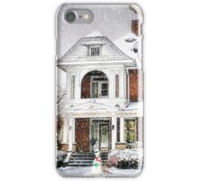Snow for Christmas iPhone Case/Skin