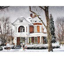 Snow for Christmas Photographic Print