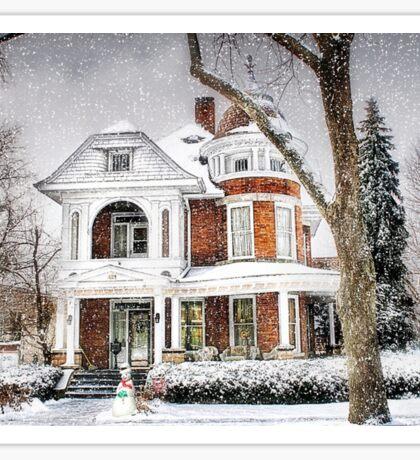 Snow for Christmas Sticker