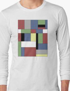 Mondrian #5 Long Sleeve T-Shirt