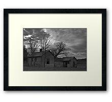Rasberry Falls Framed Print