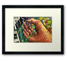 Philadelphia Shows It's Hand Framed Print