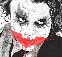 Joker by jareddraws