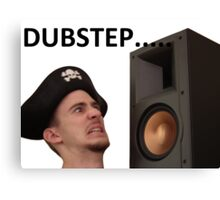 Dubstep Pirate Canvas Print