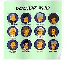 Doctor Who Tardis Green collection Poster