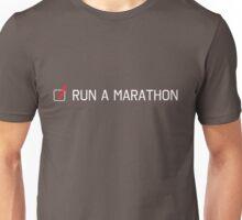 Check! Run a Marathon Unisex T-Shirt