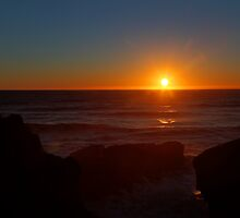 Punakaiki Sunsest by Paul Duckett