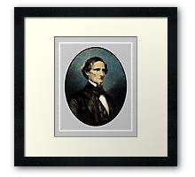 Jefferson Davis Framed Print