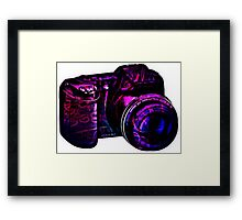 Camera I Framed Print