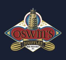 Doctor Who Inspired Oswin Oswald's Souffles - Souffle Girl Shirt - Daleks One Piece - Short Sleeve