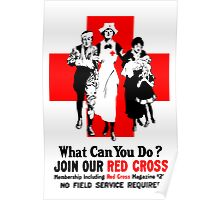 What Can You Do? Red Cross WW1 Poster