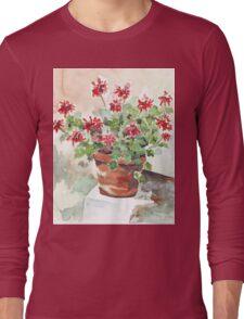 Sweet Geranium Long Sleeve T-Shirt