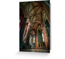 St. Patricks Cathedral, Melburne Greeting Card