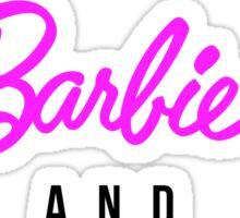 Amanda Tapping - 'Stargate Barbie' T-shirt  Sticker