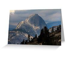 Half Dome Yosemite  Greeting Card