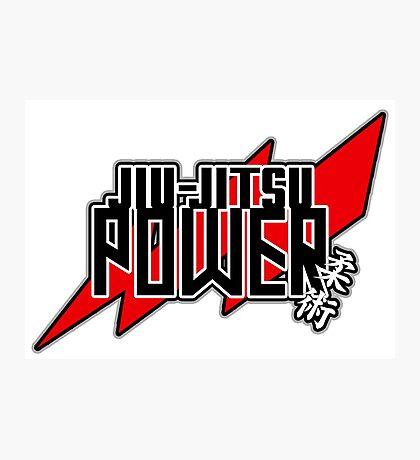 Jiu-Jitsu Power! Photographic Print