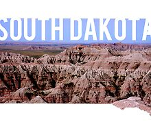 South Dakota - Badlands by Daogreer Earth Works
