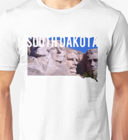 South Dakota - Mount Rushmore Unisex T-Shirt
