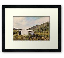 Joe's Hut Framed Print