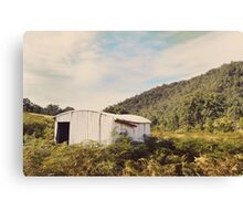 Joe's Hut Canvas Print