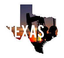 Texas - Oil by Daogreer Earth Works