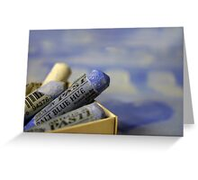 Blue Pastels Greeting Card