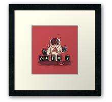 Kleptonaut Framed Print