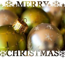 Merry Christmas Card (#CC102) by Karen Duffy